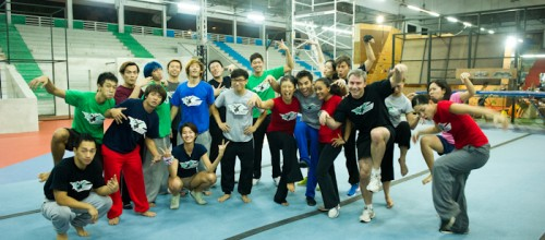 Superfly Monkey Dragons GymKraft Parkour Freerunning Media Night