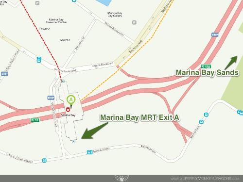 MarinaBay MRT