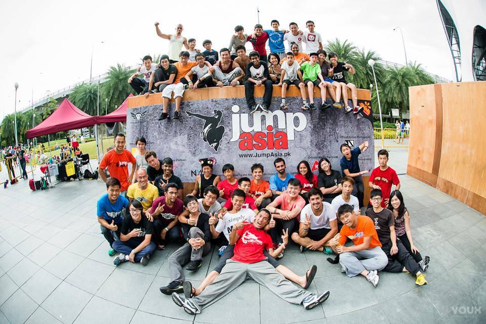 Jump Asia Shot