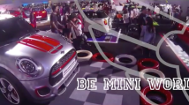 Superfly Mini Cooper Parkour Performance 2014
