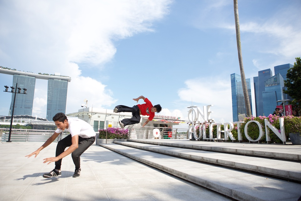 Parkour Singapore - Superfly Monkey Dragons - Learn 2 Flip